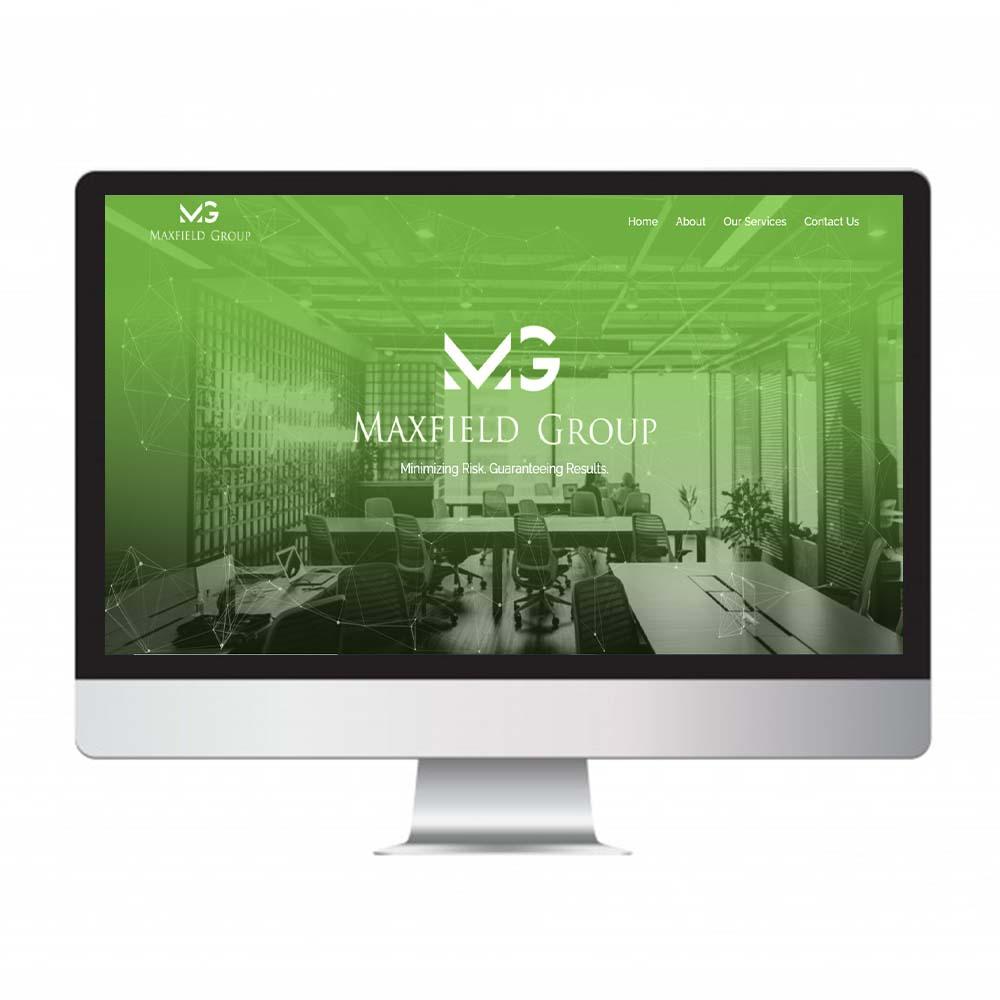 maxfield group, website design and development